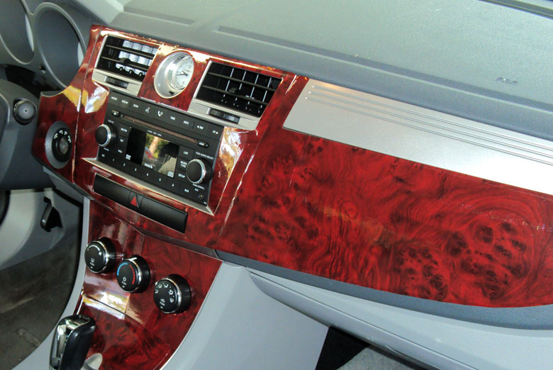 Custom 1992 Ford E-150 Wood Dash Kits