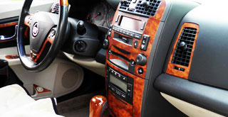 Cadillac Wood Grain Dash Kits