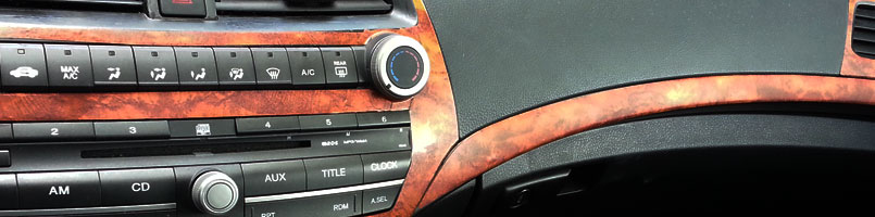 Honda Accord Wood Dash Kits
