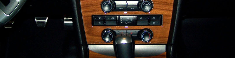 Ford Mustang Real Wood Dash Kits