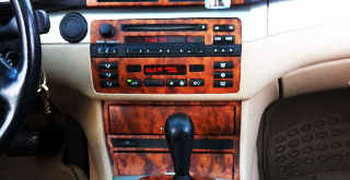 BMW Custom Wooden Dash Trim