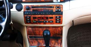 BMW Custom Wooden Dash Trim