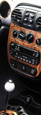 Chrysler PT Cruiser Wood Dash Kits