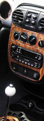 Chrysler PT Cruiser Wood Dash Kits