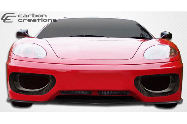 2003 Ferrari 360 Modena Carbon Creations F-1 Bumper (Front)