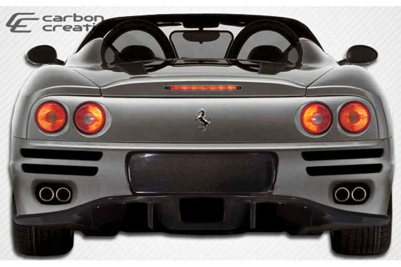 2001 Ferrari 360 Modena Carbon Creations F-1 Bumper (Rear)