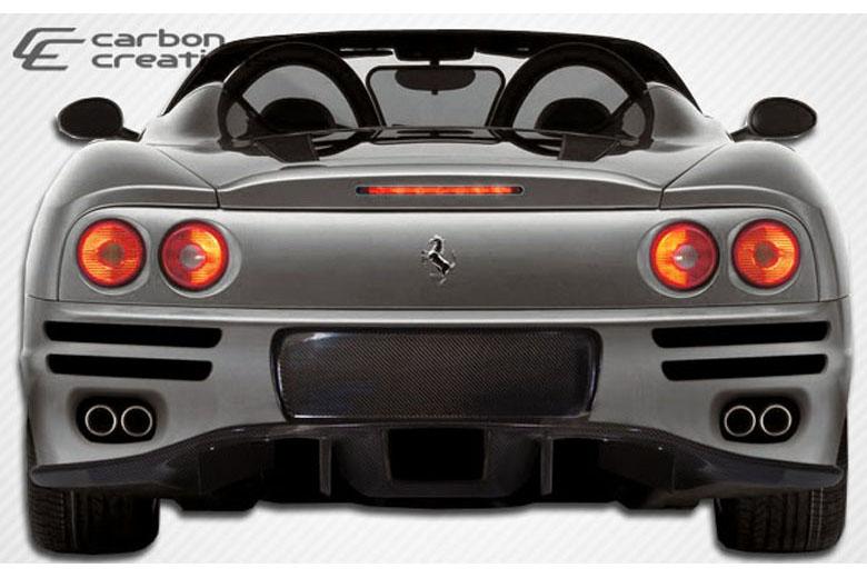 2003 Ferrari 360 Modena Carbon Creations F-1 Bumper (Rear)