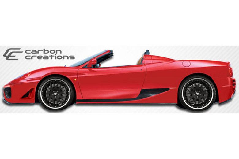 2003 Ferrari 360 Modena Carbon Creations F-1 Sideskirts