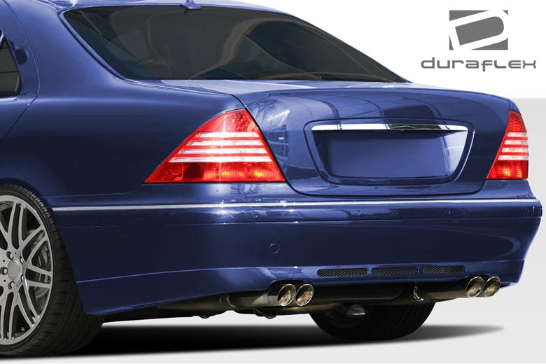 2003 Mercedes S-Class Duraflex BR-S Bumper (Rear)