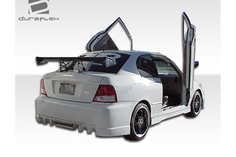 2000 Hyundai Accent Duraflex Evo 5 Bumper (Rear)