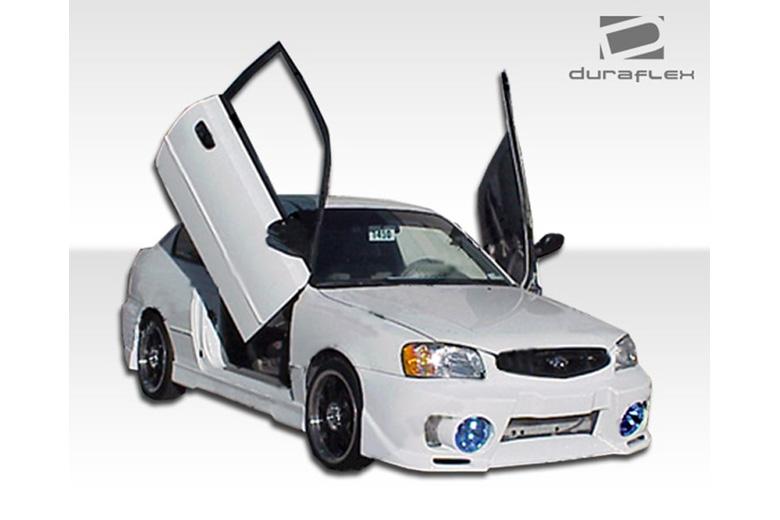 2000 Hyundai Accent Duraflex Evo 5 Body Kit