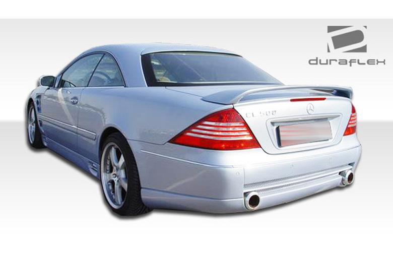 2000 Mercedes CL-Class Duraflex LR-S Bumper (Rear)