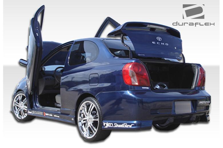 2004 Toyota Echo Duraflex C-1 Bumper (Rear)