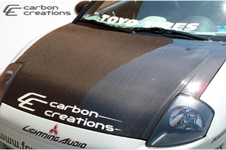 2004 Mitsubishi Eclipse Carbon Creations Hood