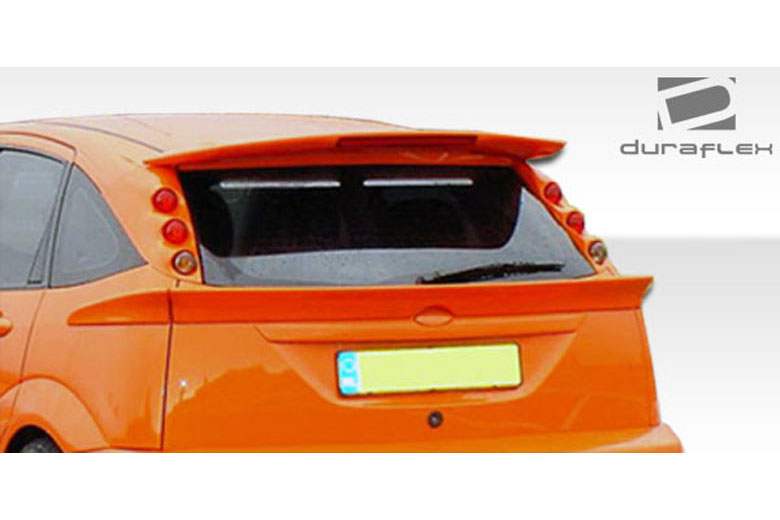 2002 Ford Focus Duraflex 3-Piece Spoiler