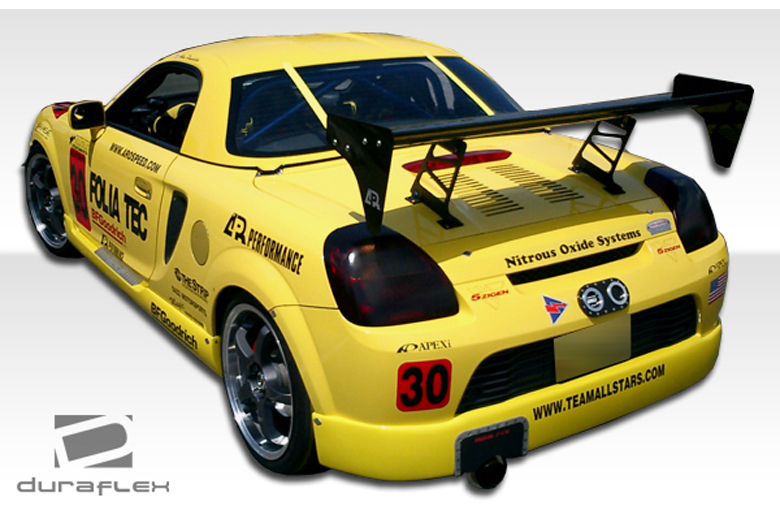 2000 Toyota MR2 Duraflex Type W Rear Lip (Add On)