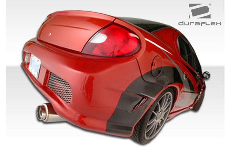 2000 Dodge Neon Duraflex Kombat Bumper (Rear)