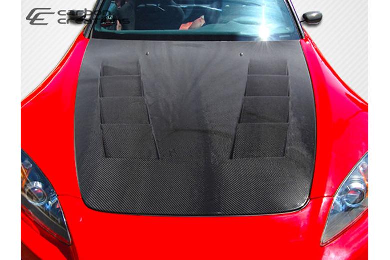 2002 Honda S2000 Carbon Creations TS-1 Hood