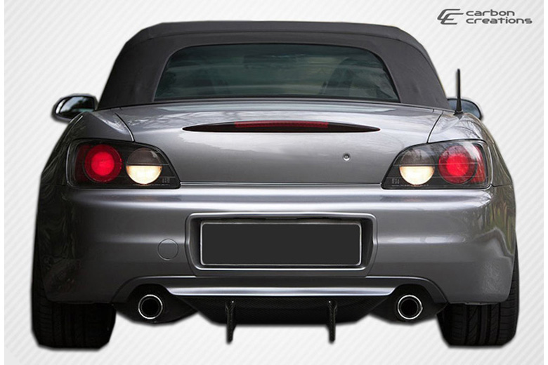 2006 Honda S2000 Carbon Creations Type F Rear Lip (Add On)