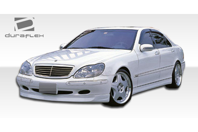 2001 Mercedes S-Class Duraflex BR-S Front Lip (Add On)