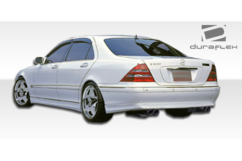 2000 Mercedes S-Class Duraflex BR-S Rear Lip (Add On)