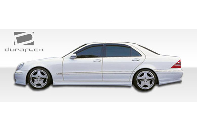 2003 Mercedes S-Class Duraflex BR-S Sideskirts