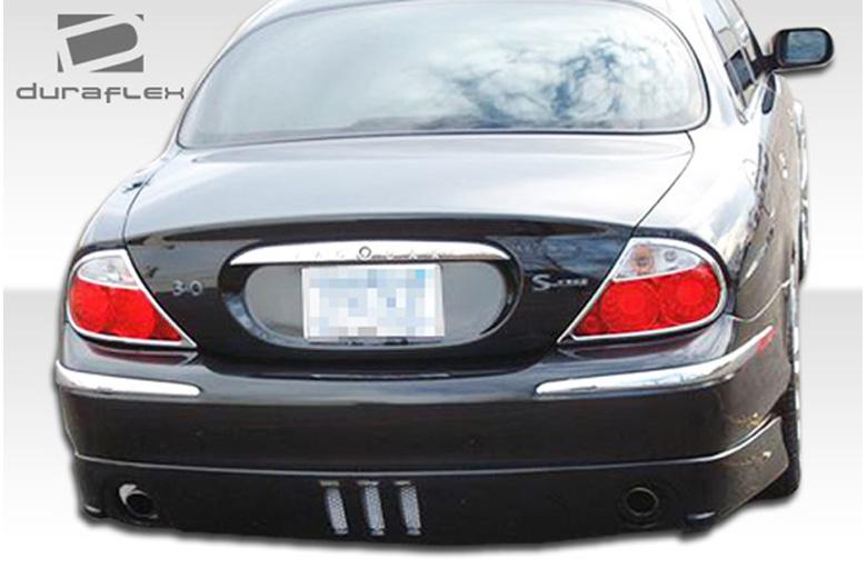 2002 Jaguar S-Type Duraflex VIP Rear Lip (Add On)