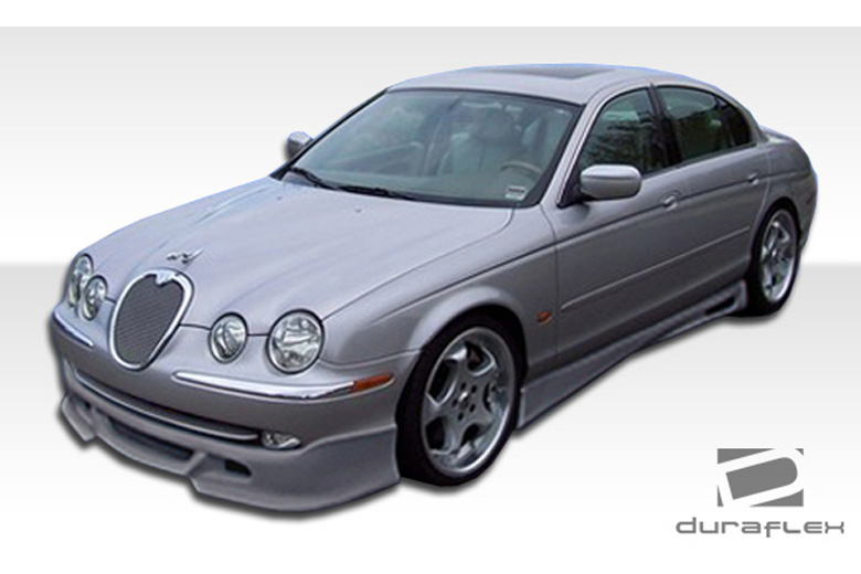 2002 Jaguar S-Type Duraflex VIP Sideskirts