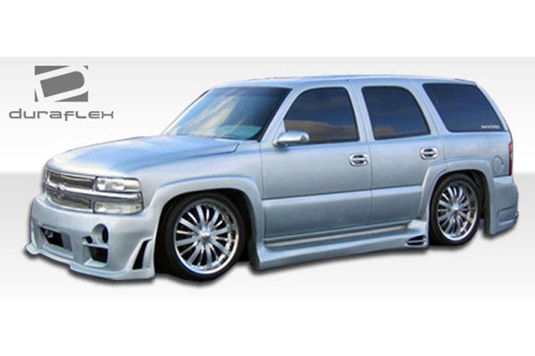 2001 Chevrolet Suburban Duraflex Platinum Sideskirts