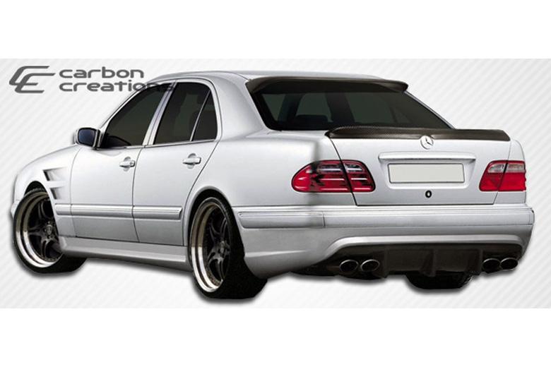2001 Mercedes E-Class Carbon Creations Morello Edition Bumper (Rear)