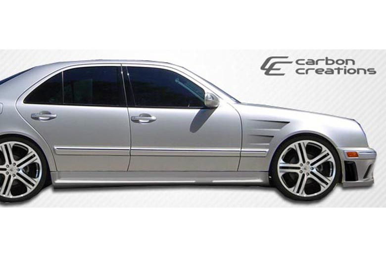 1997 Mercedes E-Class Carbon Creations Morello Edition Sideskirts