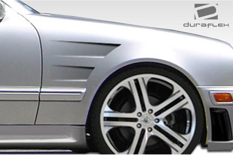 2001 Mercedes E-Class Duraflex Morello Edition Fender