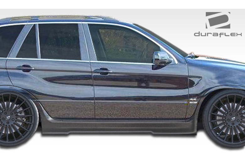 2001 BMW X5 Duraflex CSL Look Sideskirts