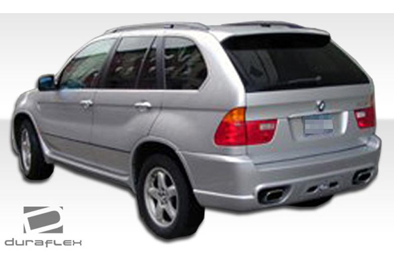 2001 BMW X5 Duraflex Platinum Bumper (Rear)