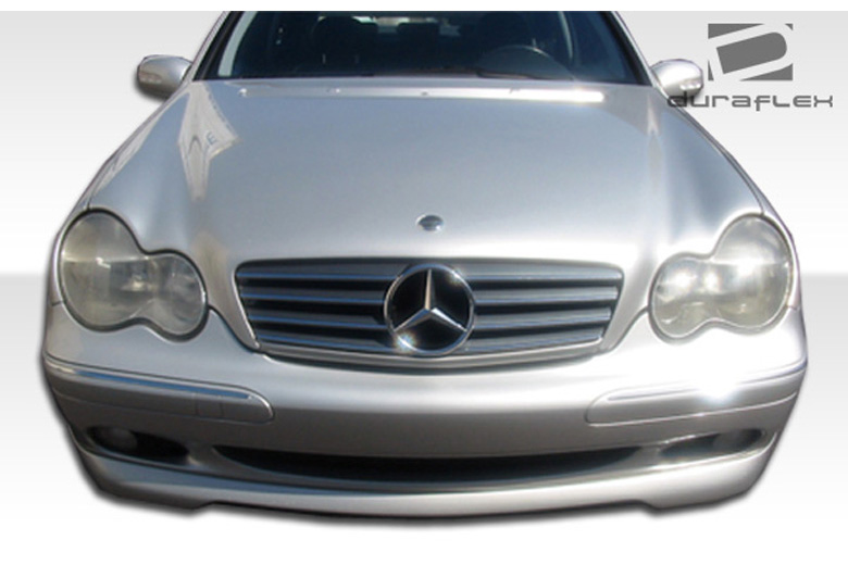 2001 Mercedes C-Class Duraflex CR-S Front Lip (Add On)