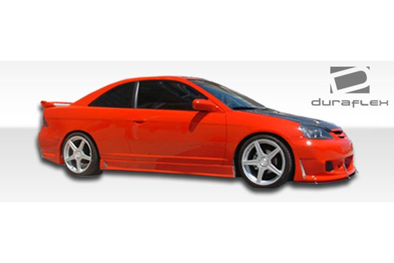 2004 Honda Civic Duraflex B-2 Sideskirts