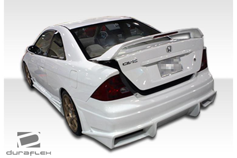 2004 Honda Civic Duraflex Bomber Bumper (Rear)