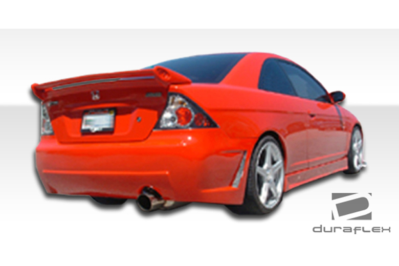 2004 Honda Civic Duraflex B-2 Bumper (Rear)
