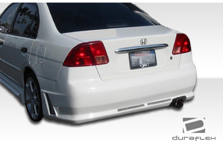 2004 Honda Civic Duraflex R34 Bumper (Rear)