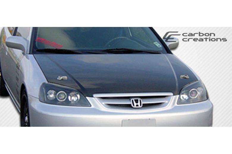 2001 Honda Civic Carbon Creations Hood