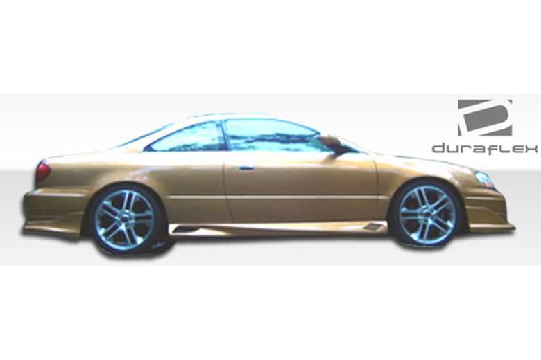 2002 Acura CL Duraflex Cyber Sideskirts