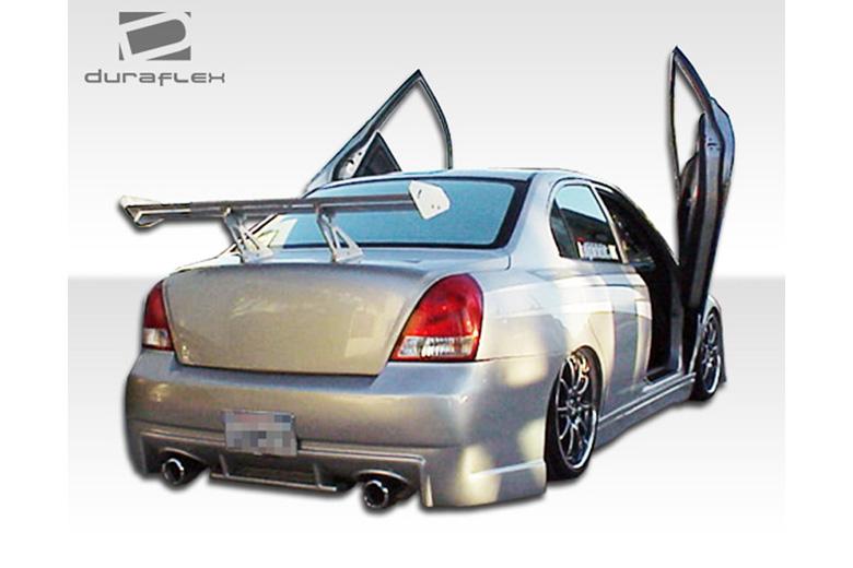 2002 Hyundai Elantra Duraflex Evo Bumper (Rear)