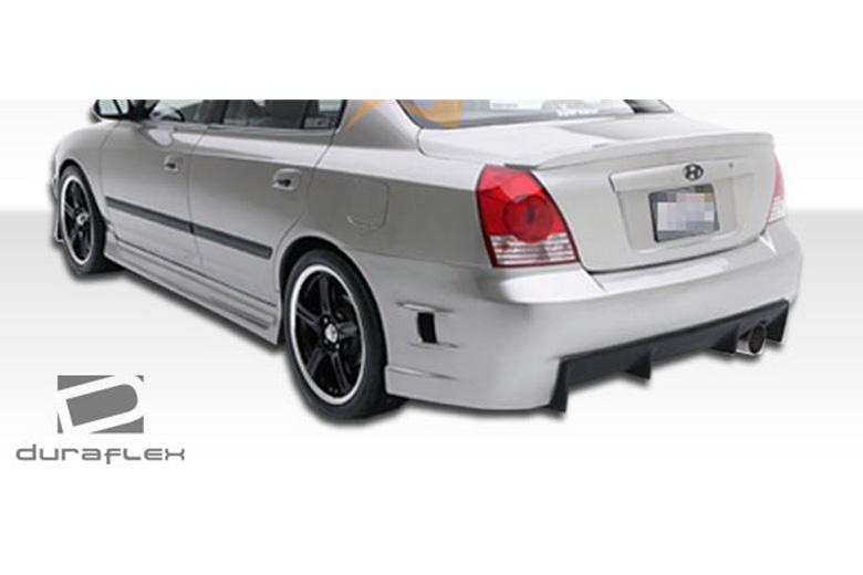 2002 Hyundai Elantra Duraflex Skyline Bumper (Rear)