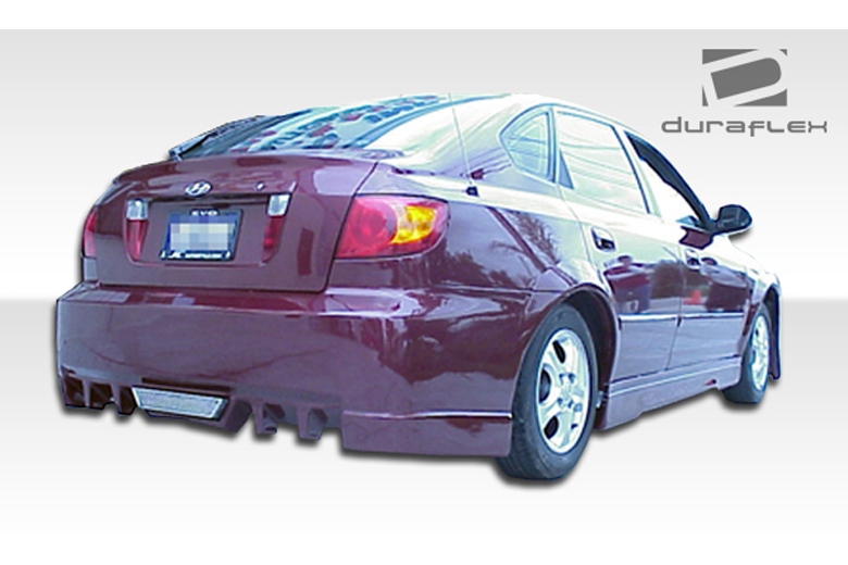 2002 Hyundai Elantra Duraflex Evo 5 Bumper (Rear)
