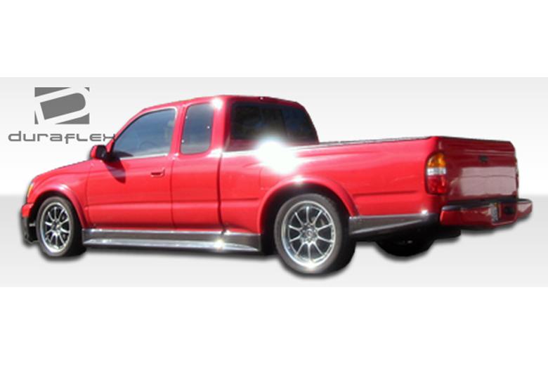 2002 Toyota Tacoma Duraflex TD3000 Rear Lip (Add On)