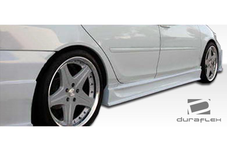 2005 Toyota Camry Duraflex Sigma Sideskirts