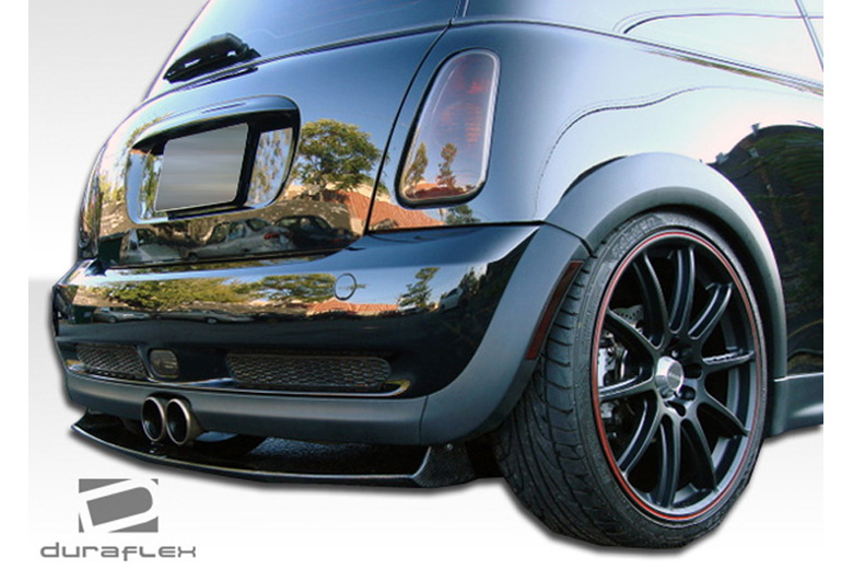 2005 MINI Cooper Duraflex Type H Rear Lip (Add On)