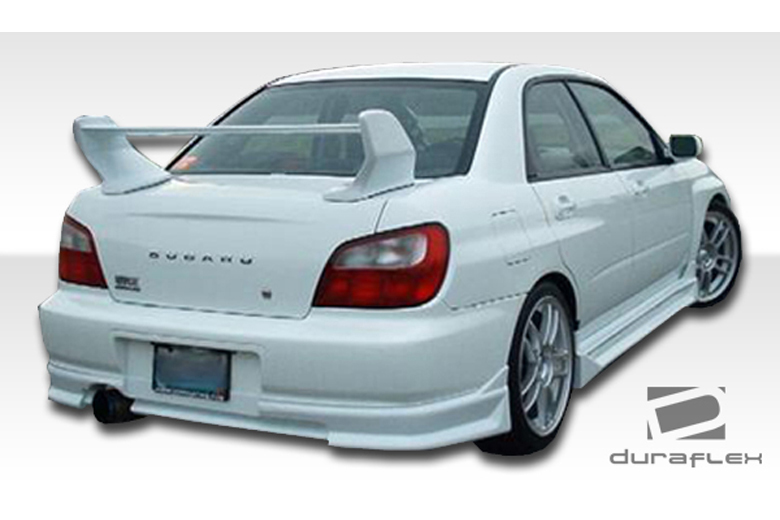 2003 Subaru WRX Duraflex C-1 Rear Lip (Add On)