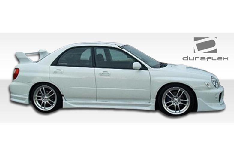 2007 Subaru WRX Duraflex C-1 Sideskirts