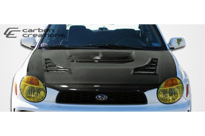 2003 Subaru WRX Carbon Creations C-1 Hood